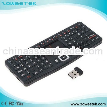 with backlit function mini keyboard for smart tv