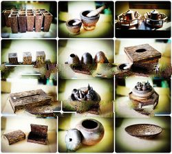 Handmade wooden products