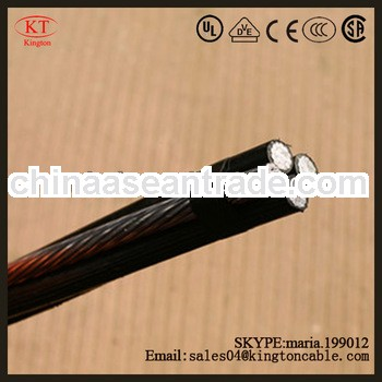 xlpe /pvc /pe insulated service cable/abc cable /aerial bundle cable