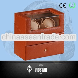 Dual Watch Winder w/Drawer