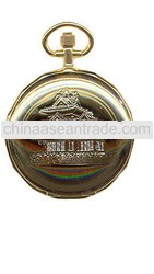 factory supply alloy case Gold Pocket Watch
