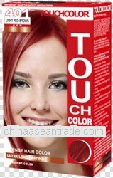 OEM Newest TouchColor Hair Color with GMP 401 Light Red-Brown
