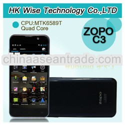 ZOPO C3 5 inch FHD MTK6589T android smartphone 1.5GHz 1GB/16GB android 4.2 dual sim