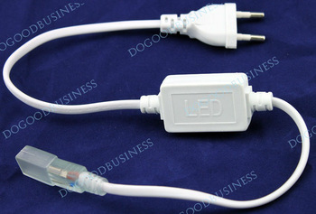 FREE SHIPPING! 3528 / 5050 SMD LED 220v  Strip Plug, LED Strip Accessory Special Plug Power supply p