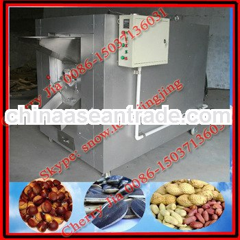 2014 high output cashew nut roasting machine/+86+15037136031