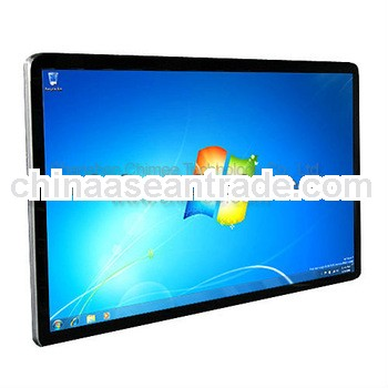 42inch led screen panel indoor all in one computer with metal frame