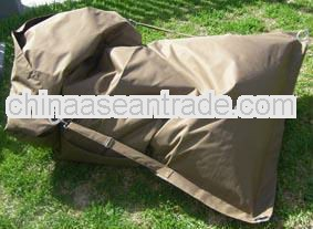 Adjustable strap beanbag , buggle up bean bags, outdoor sitting chair