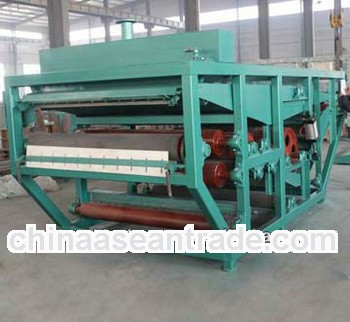 Belt filter press for domestic sewage treatment