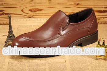 Bright flat casual italian mens leather shoes BL853