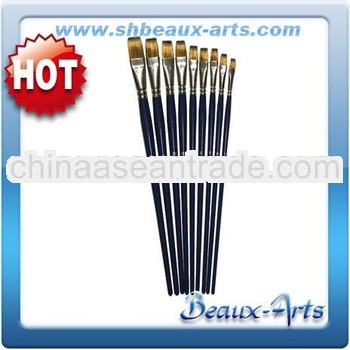 Brush Company-Golden Synthetic Brushes-Blue Lacquered Handle Oil Brushes