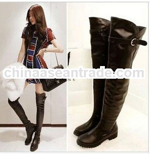 C50919S KOREAN FASHION STYLE HIGH QUALITY LADIES OVER KNEE BOOTS