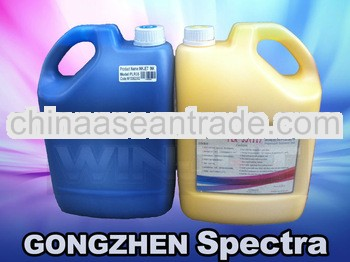 Durable over 18 monthes Solvent ink for Spectra Polaris 15pl/35pl/85pl 256 printhead gongzhen brand