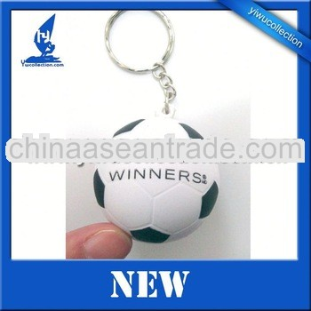 ECO friendly logo printed PU stress ball keyring,PU stress ball
