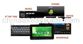 Factory ampe a85 8gb tablet pc BOXCHIP A13 -1GHZ(cortex A8),Built-in 2G,support calling,Android 4.0