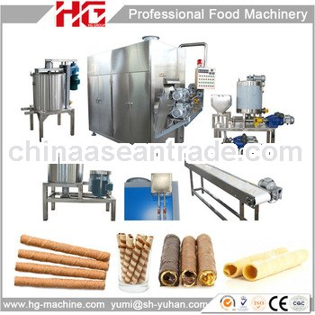 Fully automatic small line egg roll making machine