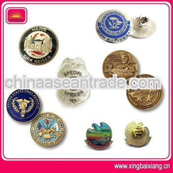 High quality brass badge