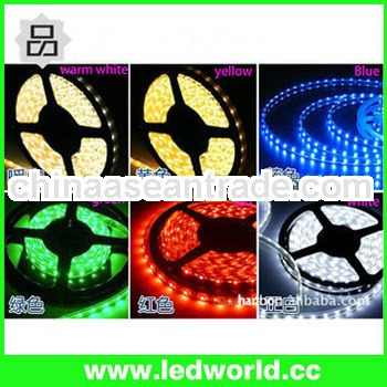 Holiday Decorations waterproof 3528 warm white flexible smd led strip