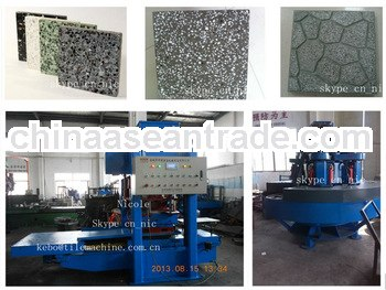 KB125E High quality profitable multifunctional floor tile making machine