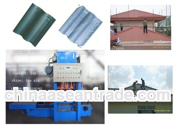 KB-125C hydraulic pressing concrete roof tile making machine