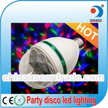 LED bombillas magic crystal e27 b22 RGB color changing led light bulb