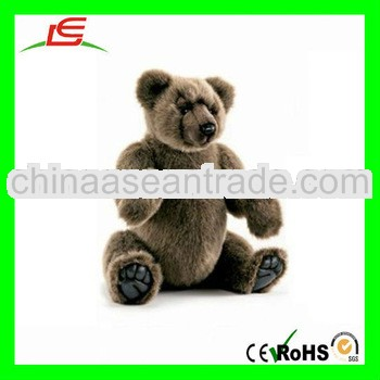 LE-D656 Soft Brown Plush Stuffed Bear Fat Toys