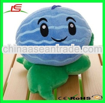 LE h1750 plant vs zombies popular game soft plush doll winter melon