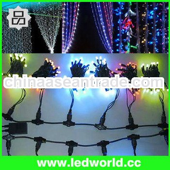 Outdoor decoration cheap decorative led waterfall curtain lights