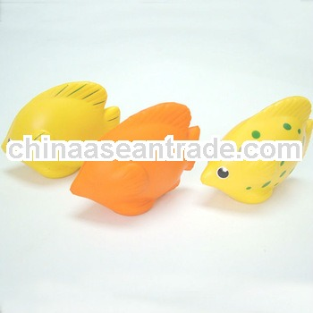 PU various tropical fish toys
