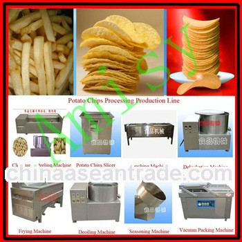 Semi-automatic excellent quality french fries production line