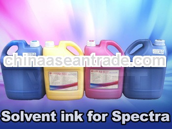 Solvent Based Solvent ink for Spectra Polaris 15pl/35pl/85pl 256 printhead gongzhen brand Ink for sp