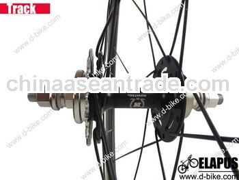 Top quality single speed 700c 50mm carbon track rear wheel