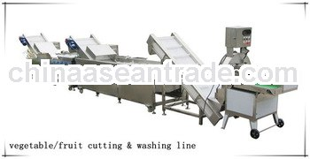 UF-SX01 stainless steel fruit cutting&washing line