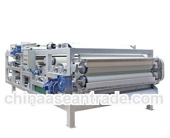 automatic belt filter press for industrial filter