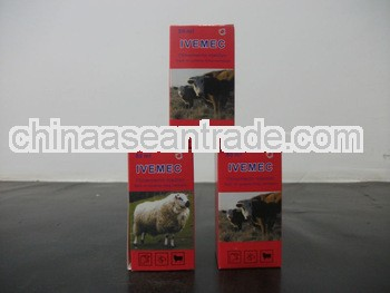 cattle medicine ivermectin1% injection/veterinary medicine