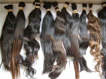 cheap price unprocessed virgin human hair bulk