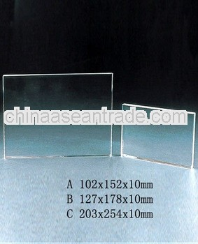 glass blocks for block printing for crystal trophy and award (R-0297)