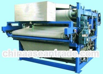 high speed automatic belt filter press plant with best price