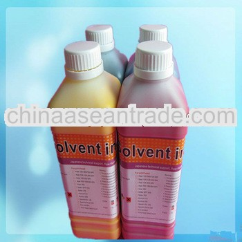 mild solvente tinta for XAAR 126 solvent ink