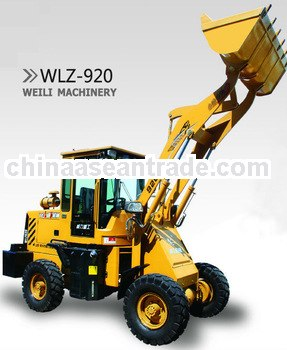 mini wheel loader with CE, EPA certificate for sale