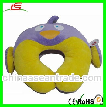 plush bird shape neck pillow for kids