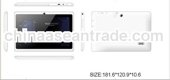 q88 tablet pc AllwinnerA13 tablet android