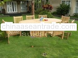 Garden furniture and teak furniture for outdoor room