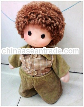 walking cloth doll
