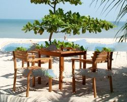 Teak Garden and Outdoor Furniture: Teak Arizona Set